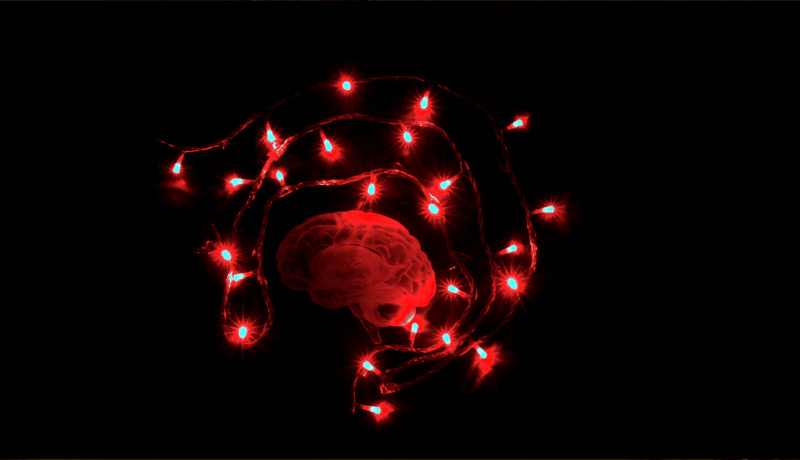 مغز لامپهای قرمز