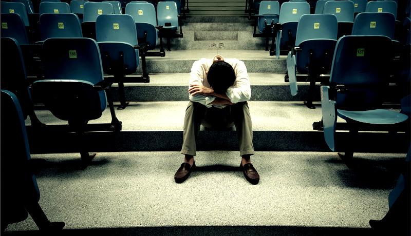 دانشجو افسرده