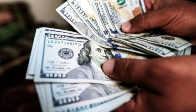 دلار از ارزش افتاد
