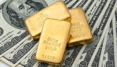 دلار طلا را کم عیار کرد