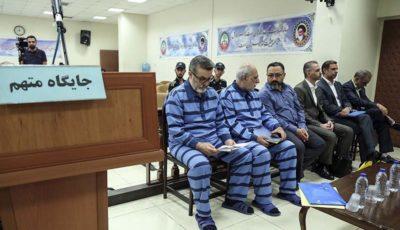 پنجمین جلسه رسیدگی به اتهامات علی دیواندری و ۸ متهم دیگر