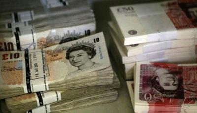 جهش نرخ پوند در برابر دلار