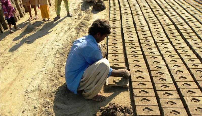 کارگاه آجرسازی هند