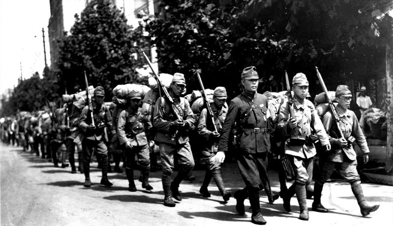 سربازان ژاپنی سئول