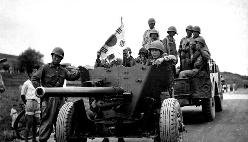 جنگ کره نیروهای کره جنوبی