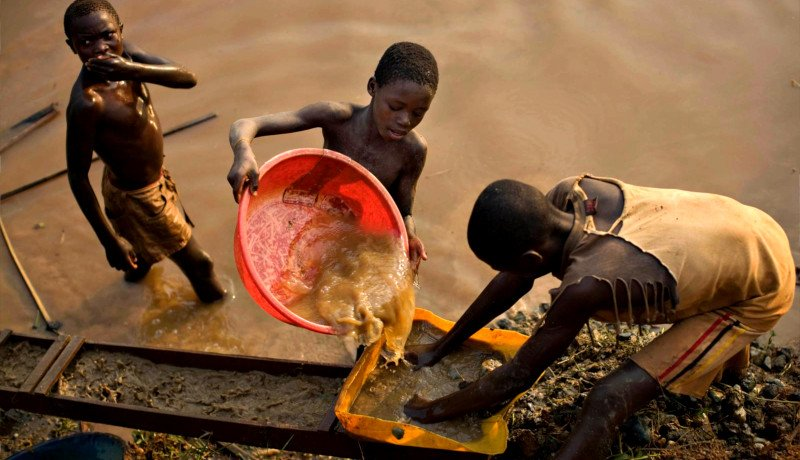 معدن طلا کنگو