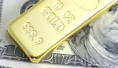 رشد ناچیز قیمت طلا در بازارهای جهانی