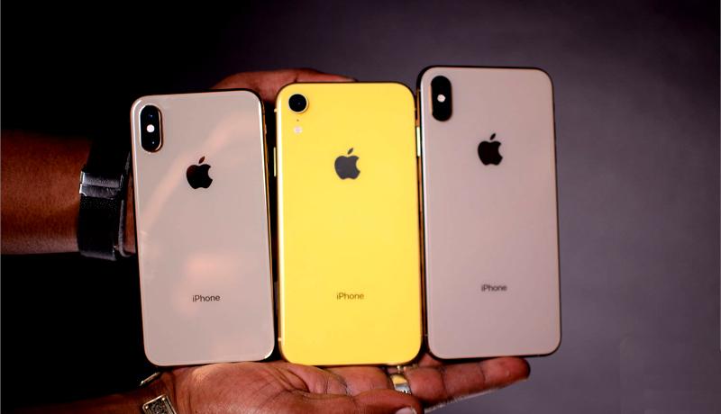 Iphone XS max, iphone XR & iPhone XS