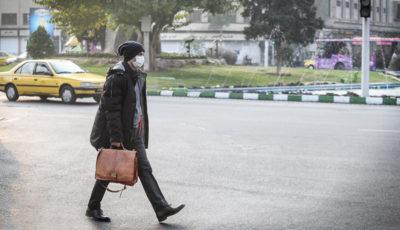 تهران آلوده به روایت یک گزارش تصویری