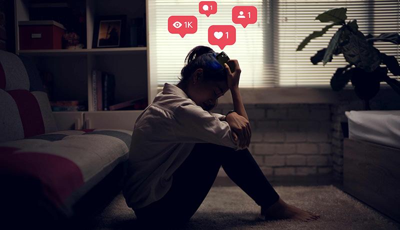 افسردگی شبکه اجتماعی