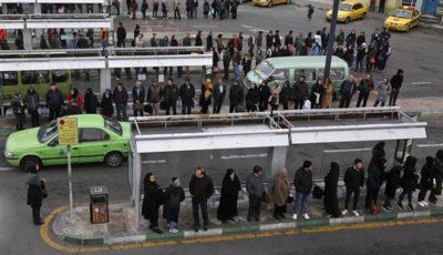 وسایل نقلیه عمومی در روز اول گرانی بنزین (گزارش تصویری)