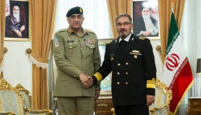 تصاویر دیدار فرمانده ارتش پاکستان با علی شمخانی