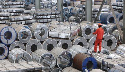 تولید فولاد ایران کاهش یافت
