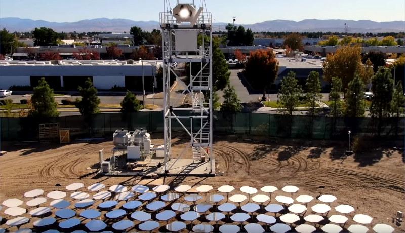 نیروگاه خورشیدی هلیوژن