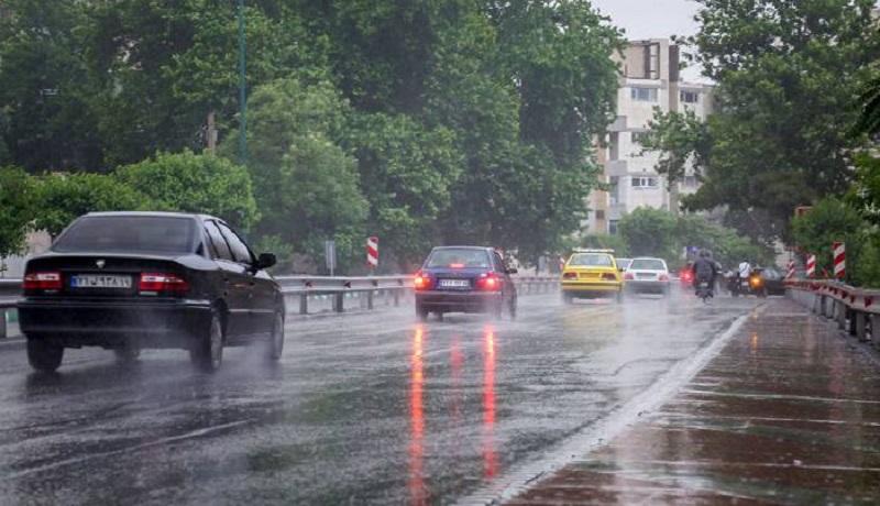 بارندگی در راه ۱۳ استان / آلودگی هوا ادامه دارد