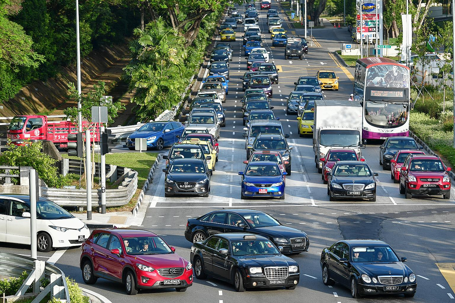 ترافیک سنگاپور