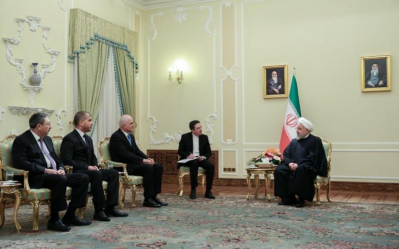 مذاکرات اقتصادی روحانی با یک مقام ارشد آذربایجان