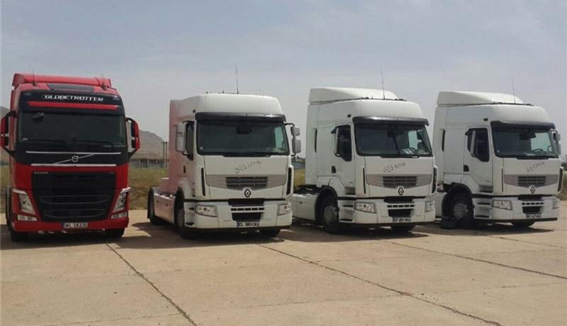 دستور رئیسجمهوری برای ترخیص 2000 کامیون صادر شد