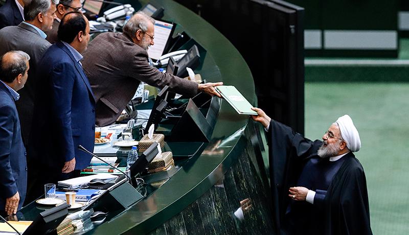 تقدیم لایحه بودجه سال ۹۹ به مجلس شورای اسلامی (گزارش تصویری)