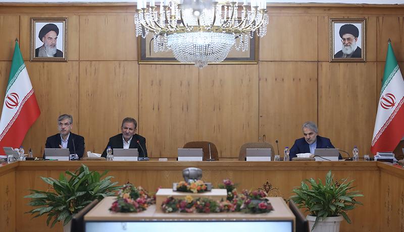 جلسه هیات دولت امروز بدون حضور حسن روحانی (گزارش تصویری)