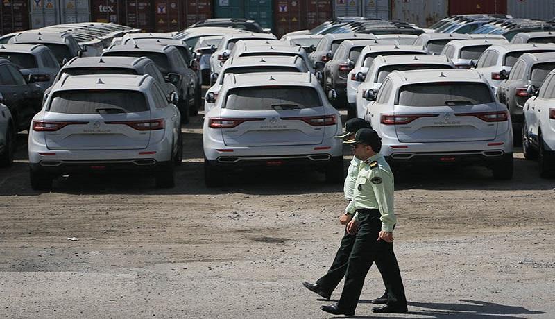 واردات غیرقانونی 2 هزار خودرو خارجی! / ارزش این قاچاق مکشوف 1.5 هزار میلیارد تومان است