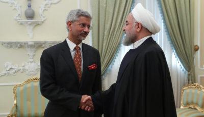 دیدار وزیر خارجه هند با رئیس جمهور (گزارش تصویری)