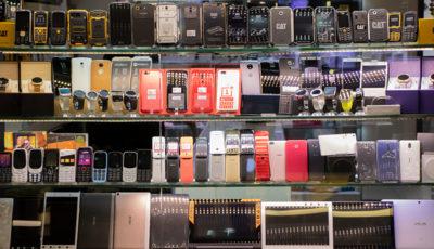 قیمت انواع گوشی امروز 6 آذر 99