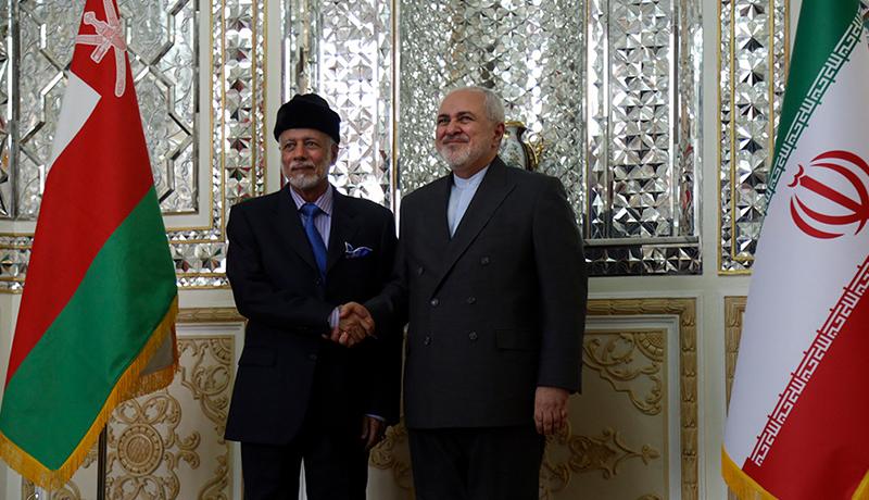 دیدار بن علوی وزیر خارجه عمان با ظریف