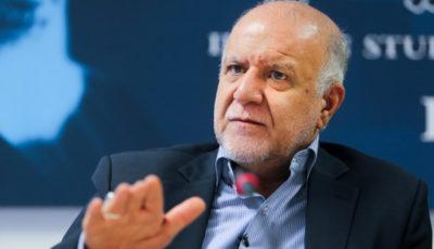 زنگنه: هیچ محدودیتی برای تولید نفت ایران نمیپذیرم
