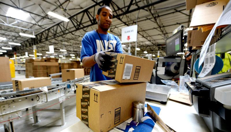 بستهبندی انبار آمازون