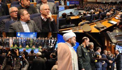 تقدیر از مدیرعامل بانک ایران زمین در ششمین همایش ملی مدیریت جهادی