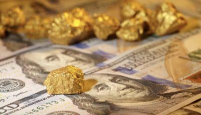 اولین قیمت دلار و طلا در معاملات هفته جدید میلادی / دلار ثابت ماند و طلا اندکی رشد کرد