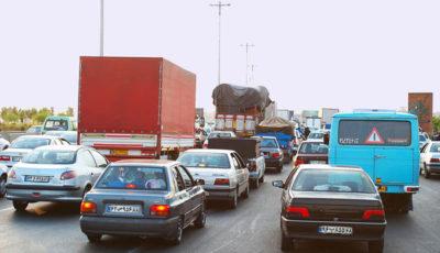 جریمه تردد کامیونها در داخل شهر تهران چقدر است؟