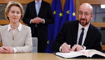 توافق برگزیت در اتحادیه اروپا امضا شد / پایان اتحاد لندن و بروکسل