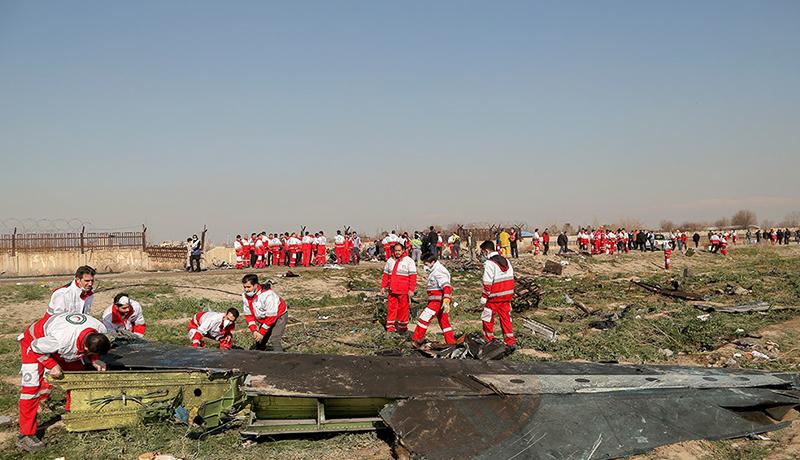 انتشار دومین گزارش سانحه سقوط هواپیمای اوکراینی