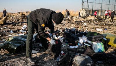 اخبار جدید از سقوط هواپیمای اوکراینی