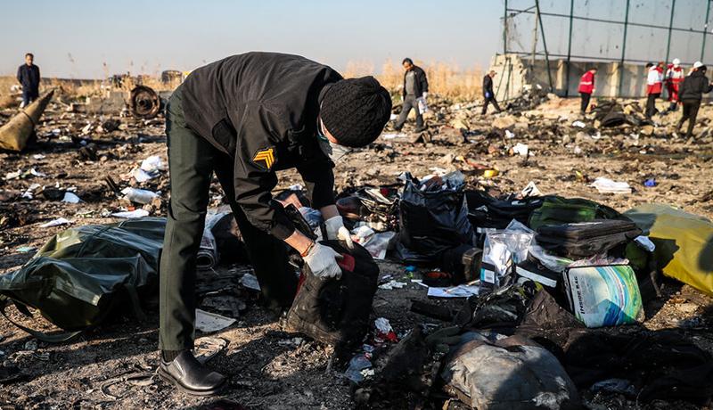 اخبار جدید از سقوط هواپیمای اوکراینی - تجارتنیوز