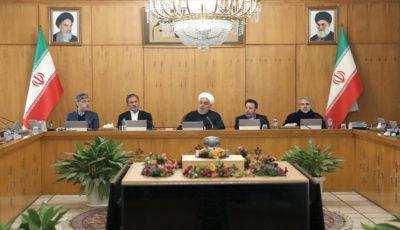 جلسه هیات دولت در روز چهارشنبه ۲۵ دی ماه (گزارش تصویری)