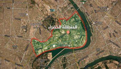 اصابت چند موشک به منطقه سبز بغداد