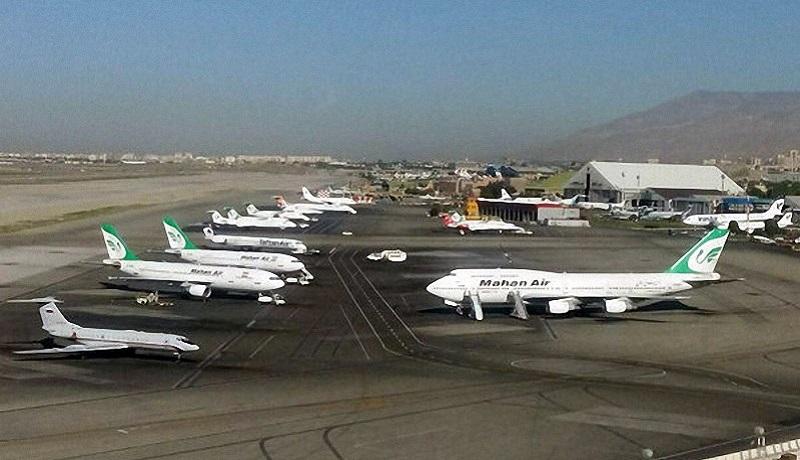 پروازهای مهرآباد به حالت عادی بازگشت