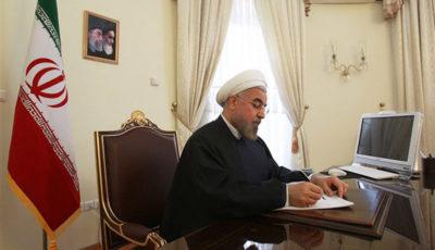 پیام روحانی به مناسبت روز ارتش