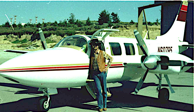 گری کیلدال هواپیما شخصی
