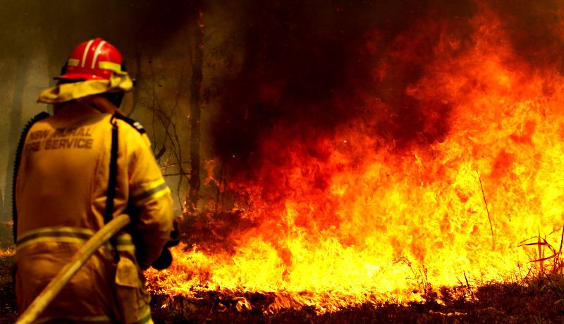 آتشنشان NSW استرالیا