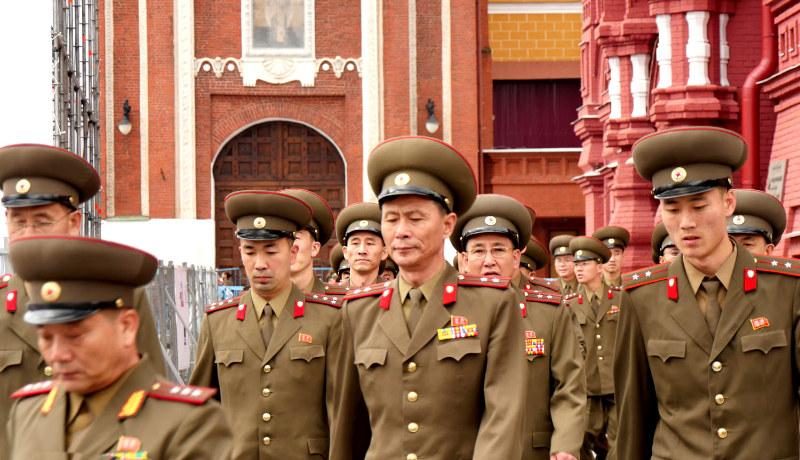 افسران کره شمالی