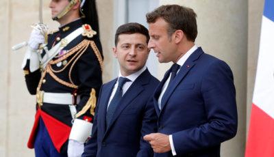 گفتوگوی روسای جمهور اوکراین و فرانسه درباره سانحه هواپیمای اوکراینی