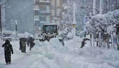 بارش برف و باران از امشب در ۱۳ استان کشور آغاز میشود