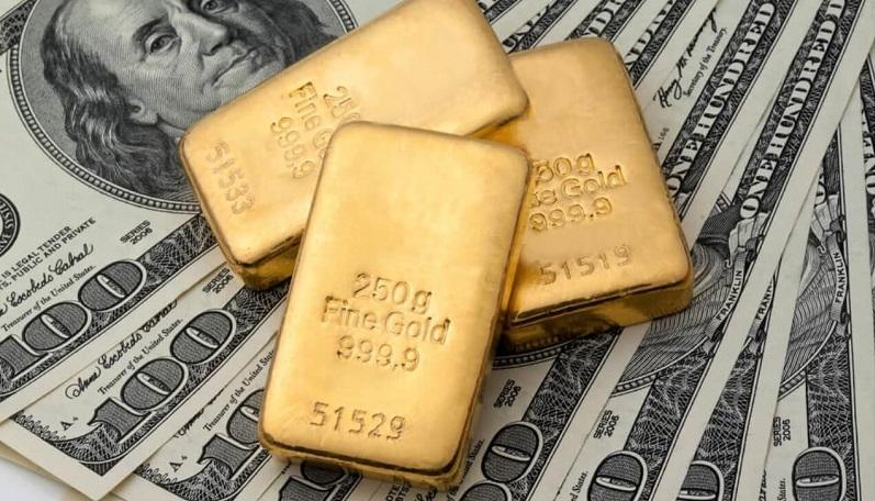 ترس دلار از ویروس چینی / طلا ۰٫۳ درصد کاهش یافت