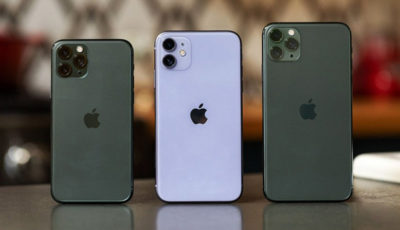 رتبه نخست فروش گوشیهای اپل در تعطیلات سال نو میلادی