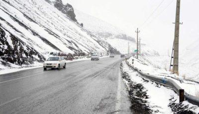 بررسی آخرین وضعیت جادهها و بارش برف در سراسر کشور