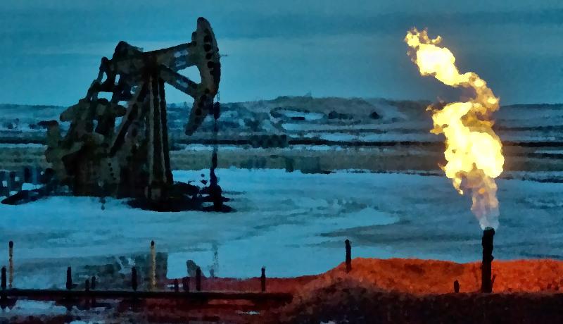 چاه نفت فلرینگ نفت